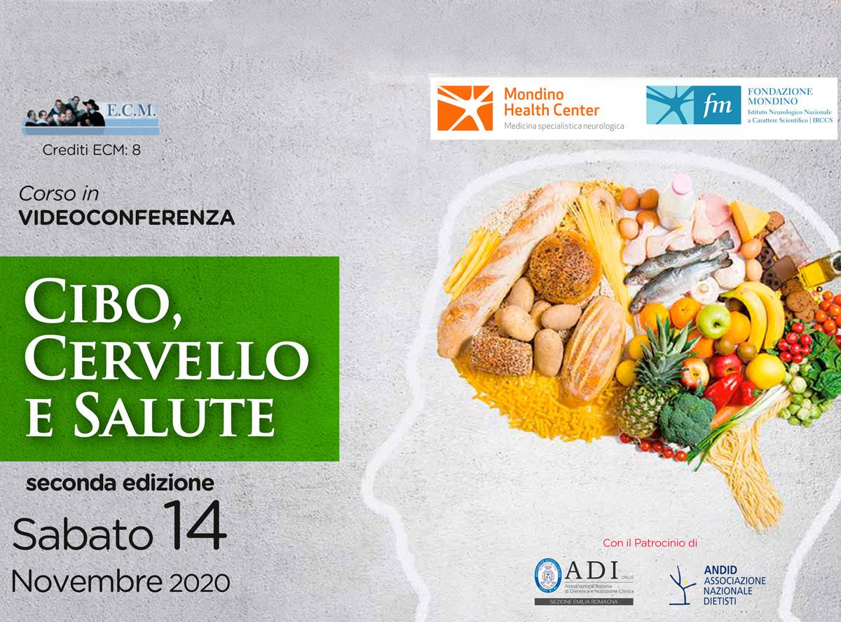 Evento online: cibo, cervello, salute